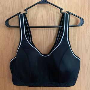 Fitted sports bra